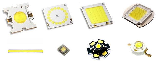 Мощные сверхяркие LED светодиоды
