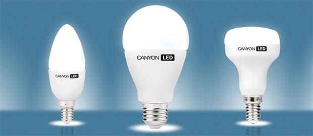 Пример светодиодных ламп для дома с цоколями Е27, Е14