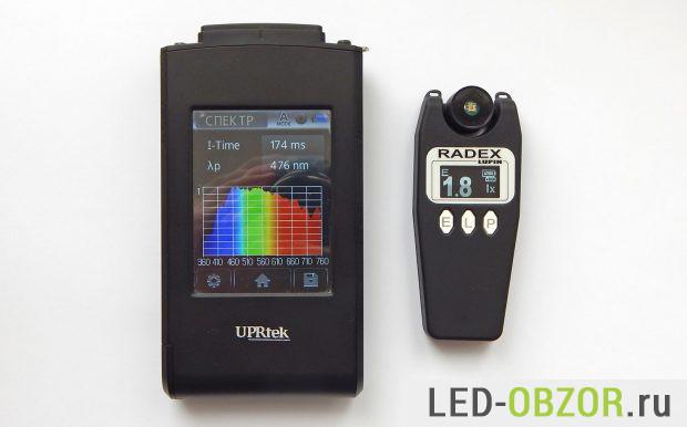 Спектрометр UPRtek MK350 и люксметр