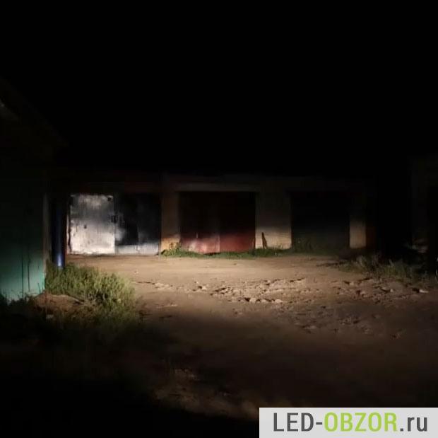 Свет и его границы от стандартных ламп Фокуса