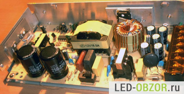 Электронный трансформатор изнутри