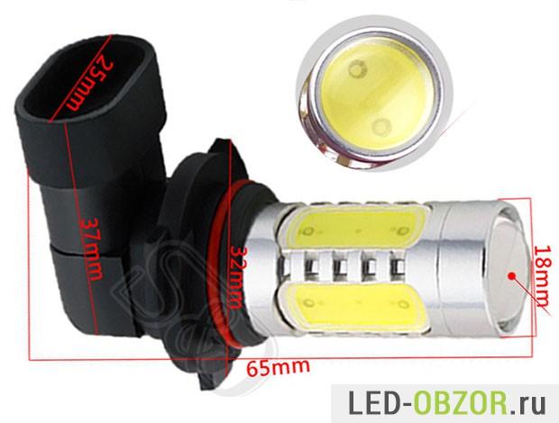 как выбирать китайские светодиодные лампы для дхо авто Hb3 9005