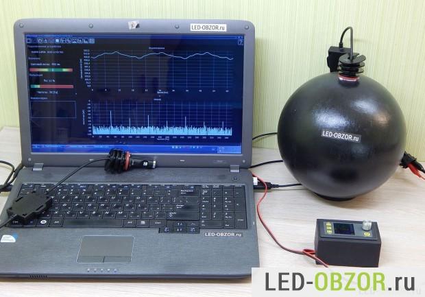 Малый фотометрический шар, диаметром 20 см