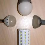 Тест 7 ламп на мигание света