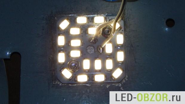 Светодиодный светильник потолочный своими руками