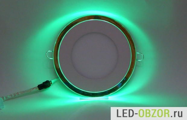 Потолочная подсветка встраиваемого LED освещения