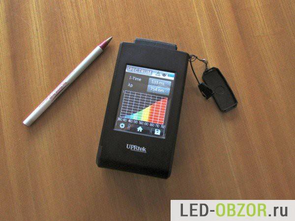 Используемый спектрометр