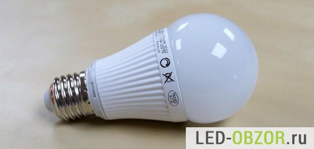 Пример матовой колбы ЛЕД лампочки