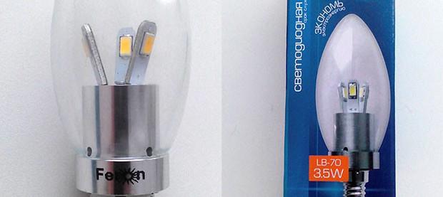 LED лампа ферон
