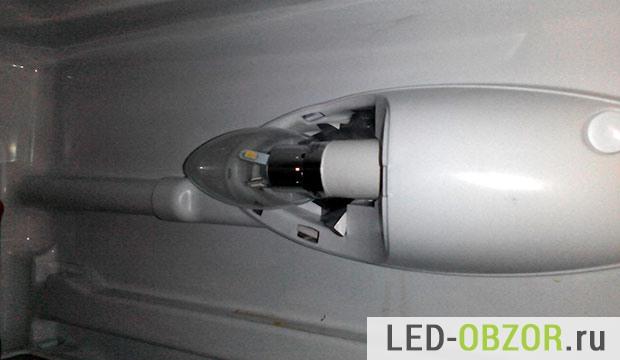 Лампа в холодильнике