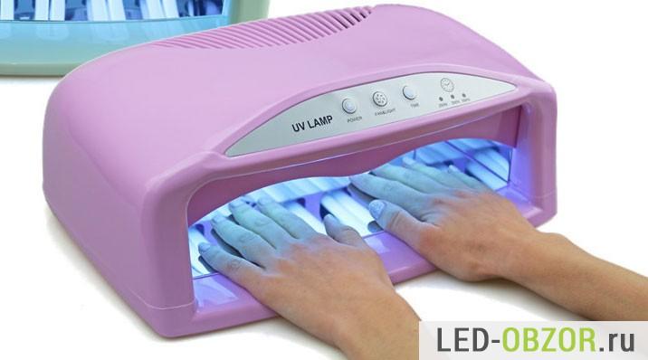 Какая лампа для сушки ногтей лучше уф или лед