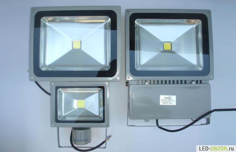Современные уличные светодиодные фонари