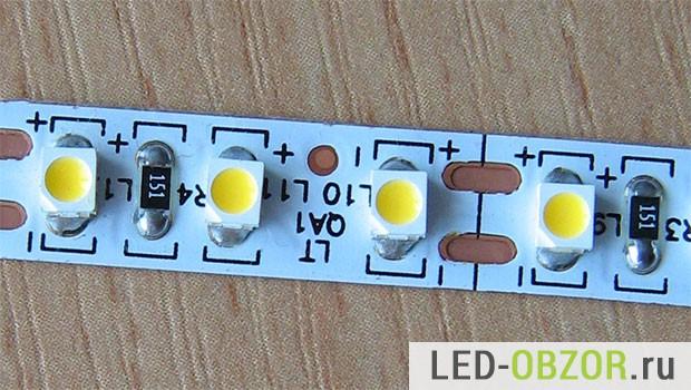 Светодиодная лента на SMD 3528