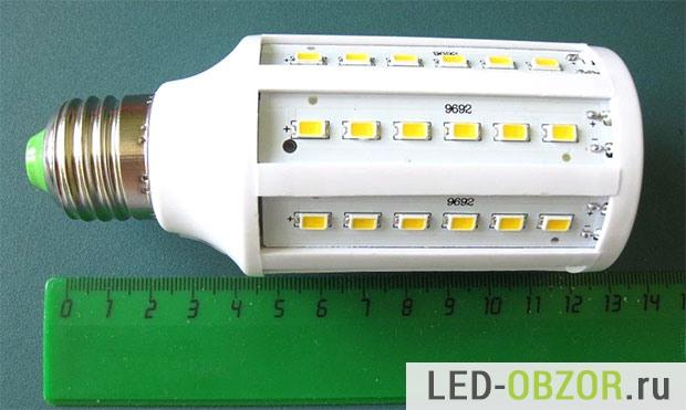 Лампа на диодах SMD 5730, 60 штуки
