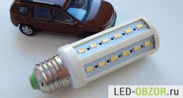 Светодиодная лампа на SMD 5630, светодиоды которой будем тестировать