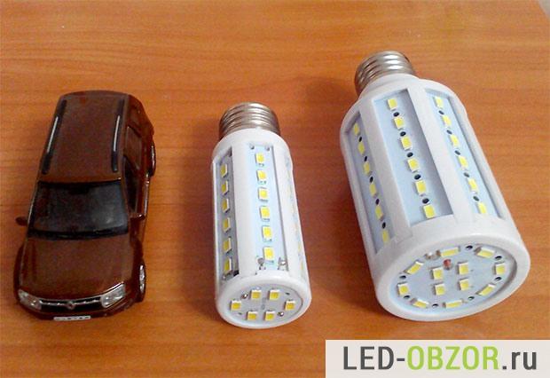Мои первые лампы, купленные в Китае
