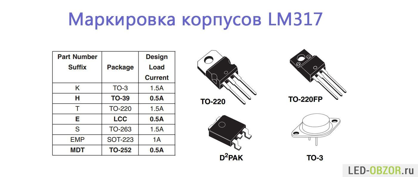 Lm317 Lm317t Datasheet Lm317k