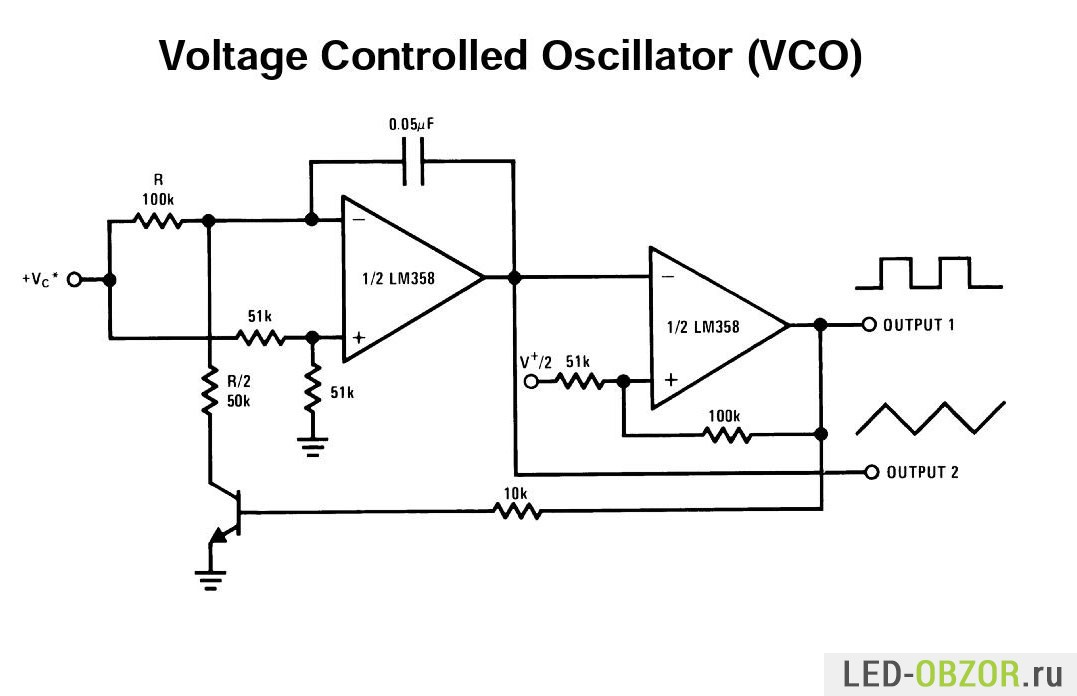 Схемы компараторов на lm358 схема