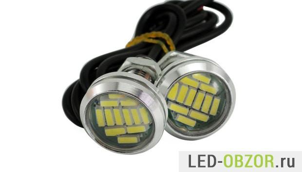 Большие на плохих LED