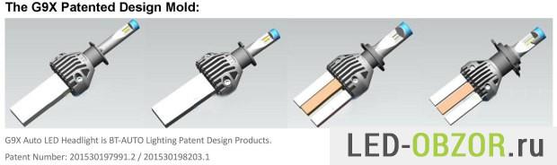 Запатентованная система охлаждения G9X