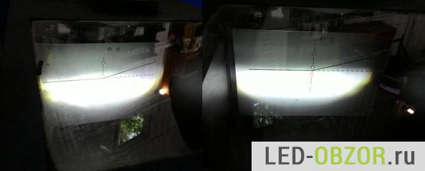 Светодиодки из одного комплекта светят по разному, косая сборка