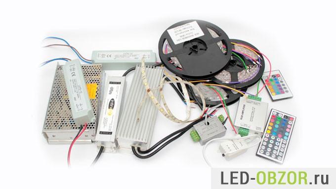 Подключение светодиодной ленты в авто136