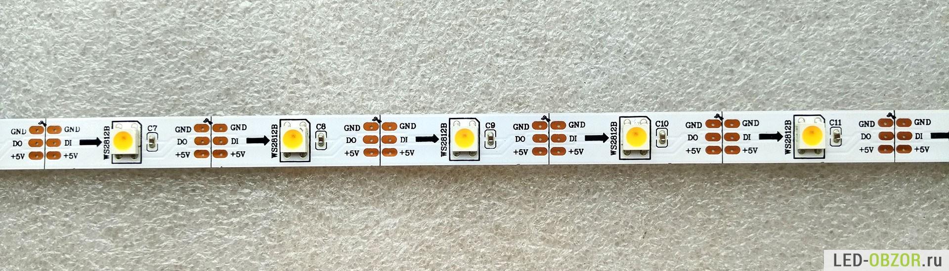схема мигающей лампы 220в