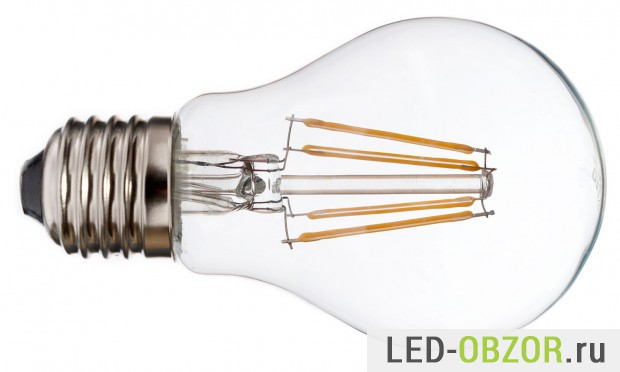 Тренд 2015 года, нитевидная светодиодная лампа