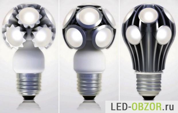 Светодиодные лампы мини светильники