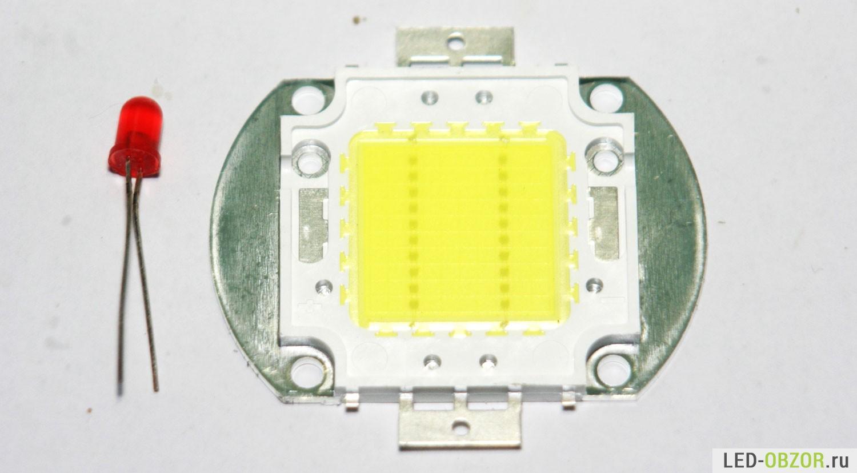 схема ночника на светодиодах на микросхемах
