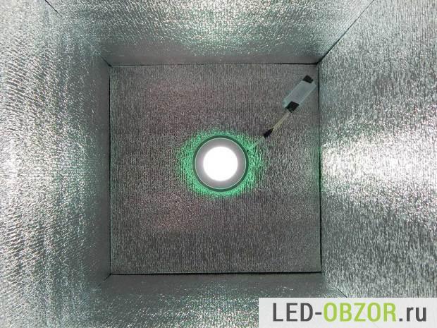 Светодиодный светильник в коробе