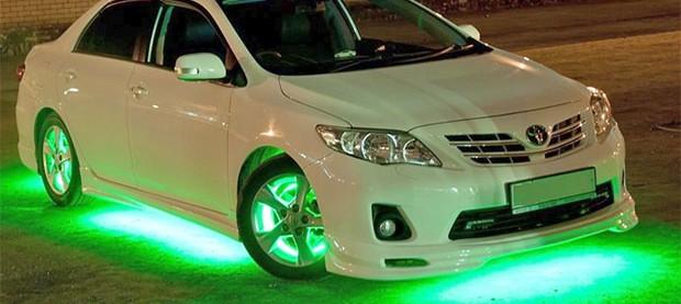 Светодиодные лампы в авто запрещены