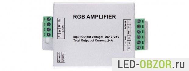 Блок усилителя RGB сигналов