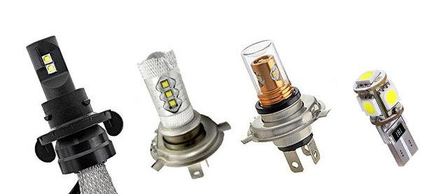 выбираем светодиодные лампы для автомобиля автомобильные лампы
