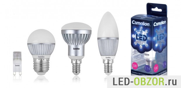 Пример неплохих светодиодных лапм для дома