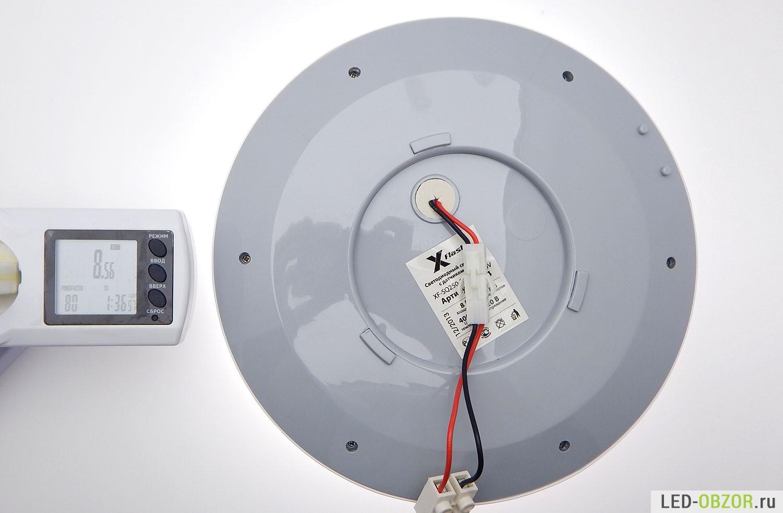 Светодиодный светильник своими руками с датчиком движения