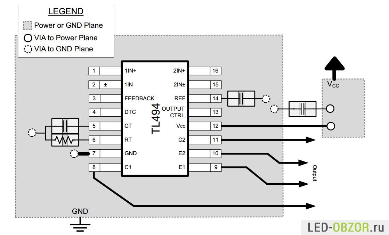 Микросхема mip2h2 схема включения