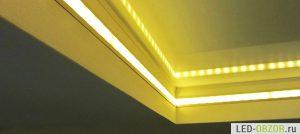 Как установить светодиодную ленту своими руками