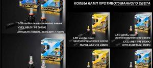 Обзор светодиодных ламп IPF для головного света