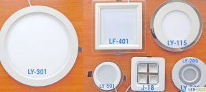 Светодиодные светильники потолочные встраиваемые, тест 6 моделей