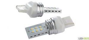 Цоколи светодиодных ламп для авто