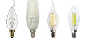 Соответствие мощности светодиодных ламп и накаливания