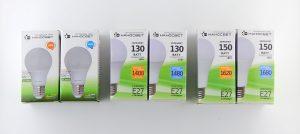 Светодиодные лампы аналог 100 Вт, 130 Вт, 150 Вт